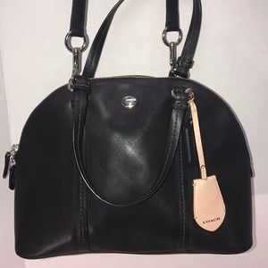 Really Cute Coach Satchel Bag Black